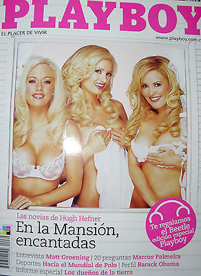 PLAYBOY MEXICO KENDRA WILKINSON, HOLLY MADISION & BRIDGET MARQUEDT 2/08 SEALED
