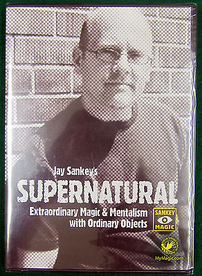 Jay Sankey's Supernatural  :: NEW DVD