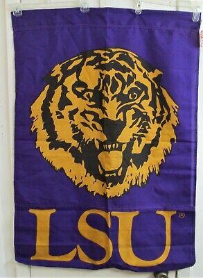 Louisiana State University Tigers Collegiate Flag 29.5 x 41 LSU Banner NCAA New