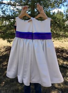 Two Matching Flower Girl Dresses