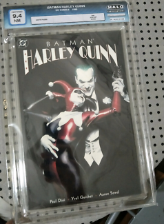 Batman Harley Quinn First Print 9.4