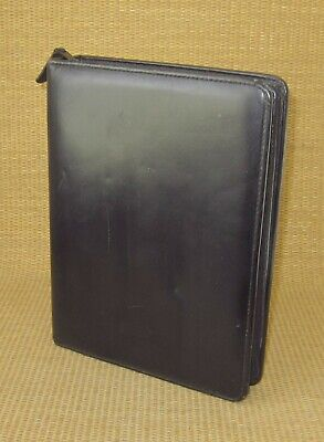 Classic 1.5 Rings Black Leather Franklin Coveyquest Zip Plannerbinder