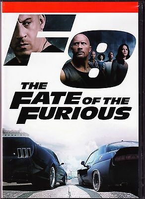 The Fate Of The Furious  2017  Dvd  New Movie  Fast Shipping