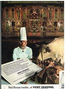 publicit advertising 1976 eau min rale vichy celestins. Black Bedroom Furniture Sets. Home Design Ideas