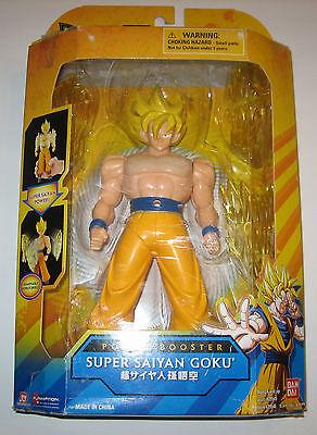 Dragon Ball Z Power Booster Super Saiyan Goku Bandai Figure Energy Shield
