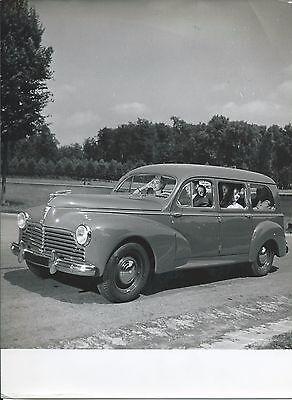 Peugeot 203L Limousine Familiale Original 1956 Photograph Excellent Condition