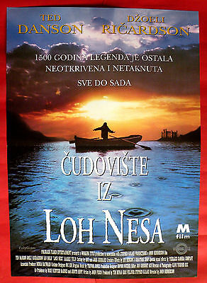 LOCH NESS  1996 TED DANSON JOELY RICHARDSON IIAN HOLM UNIQUE EXYU MOVIE POSTER