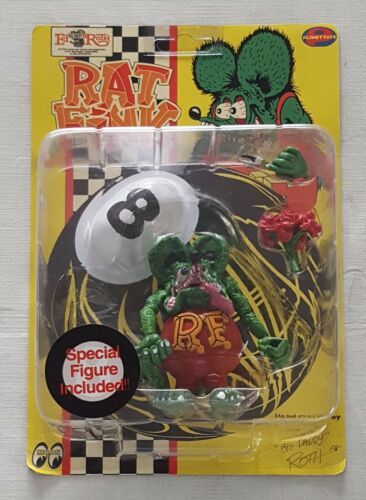 Rat Fink Action Figure - Ed Big Daddy Roth - Planet Toys