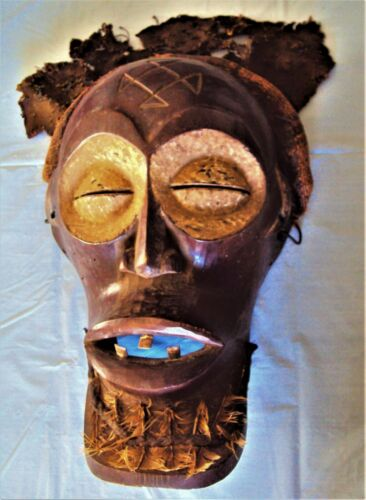CHOKWE POWER MASK African Carving!!