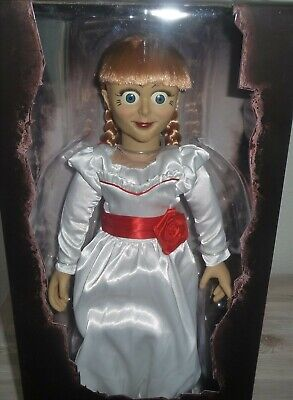 Annabelle Doll Mörderpuppe Conjuring Puppe Life Size Figure  46cm Mezco Toys Ovp