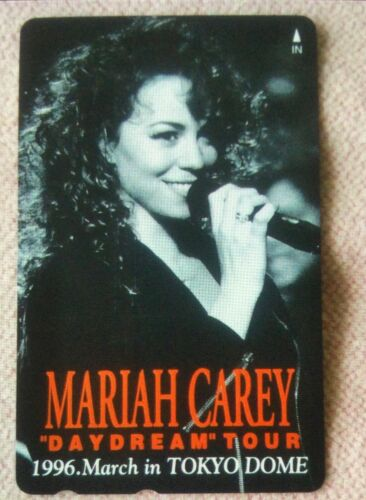 MARIAH CAREY / 1996 DAYDREAM TOUR IN JAPAN   / CALLING CARD
