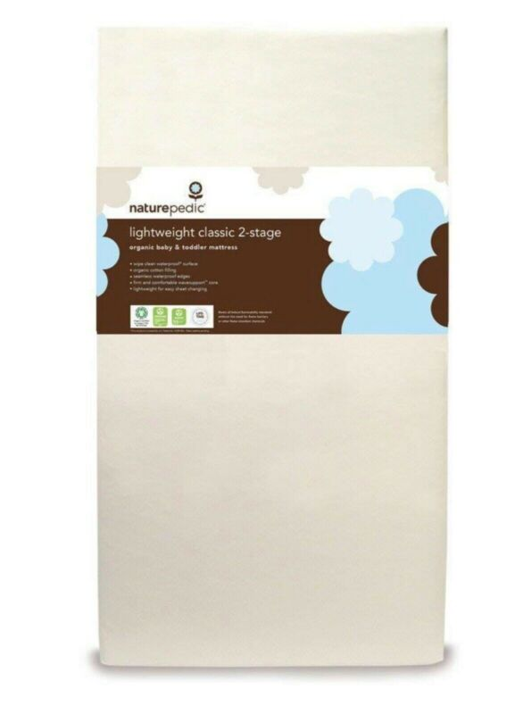 Naturepedic Organic Cotton Mattress (Dual Side) +Waterproof Fitted Cover