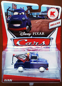 Disney Pixar Cars 2 Deluxe Ivan, Kmart Promo, Mattel Exclusive Mail-In Promotion