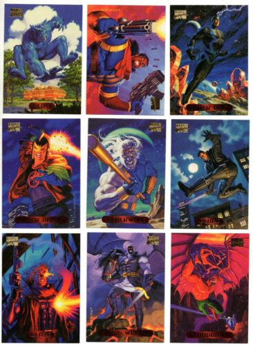 1994 Marvel Masterpieces X-men Spider-Man Base Card You Pick Finish Your Set