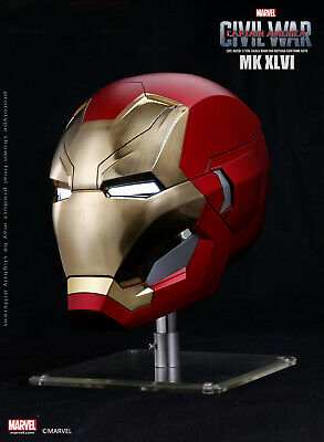 Iron Man Civil War (Marvel Captain America Civil War Iron Man Mark XLVI 46 1/1 LED Motorized)