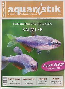 Aquaristik 2/2016    Aktuelle Süßwasserpraxis  ungelesen 1A absolut    TOP