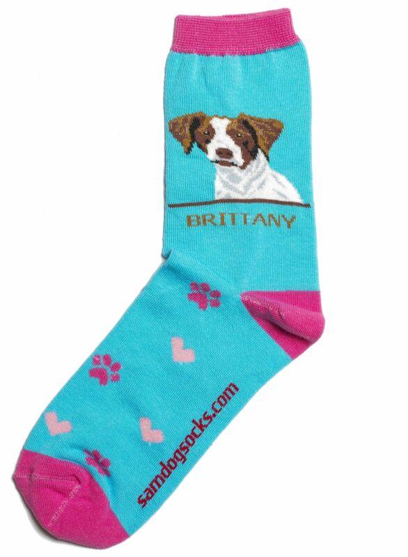 Brittany Dog Socks