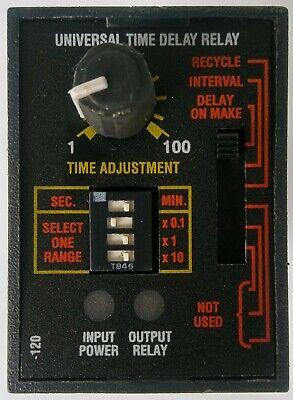Abb Ssac Universal Time Delay Relay Tru1 True Series 8 Pin Circle
