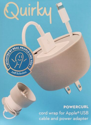 Gray Quirky Powercurl Cord Wrap Mini POP - $9.99