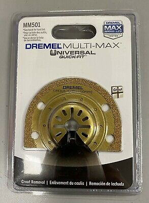 Dremel Mm501 116 Inch Grout Removal Oscillating Blade