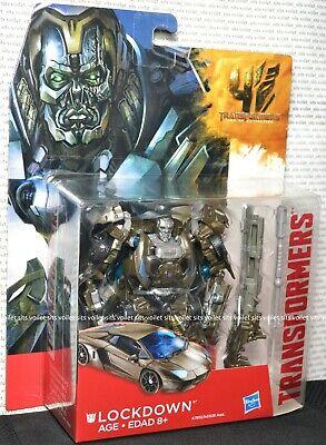 Hasbro Transformers Age of Extinction Deluxe Figure Decepticon Lockdown