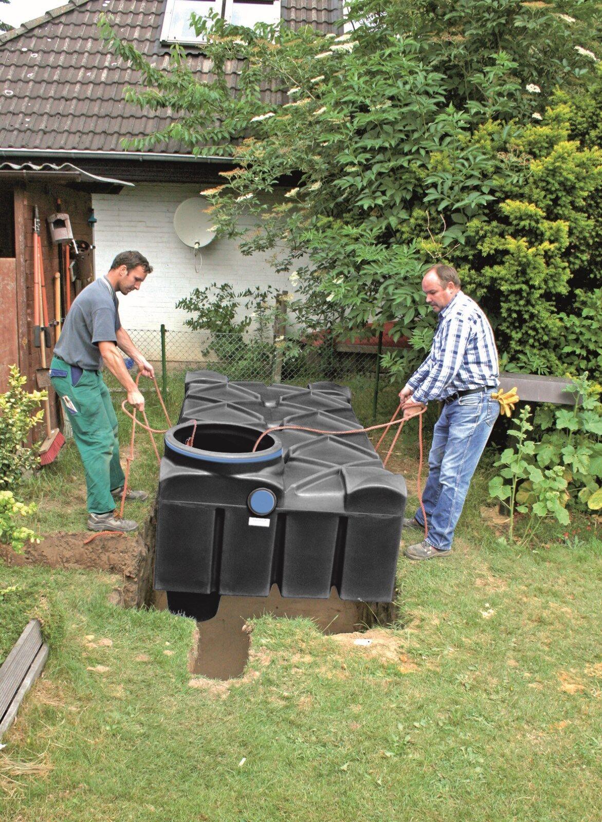 flachtank regenwassertank zisterne erdtank wassertank regenwasser