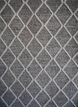 New Geometric Bayliss Ivy Fog Graphite Wool Viscose Grey Rugs Melbourne CBD Melbourne City Preview