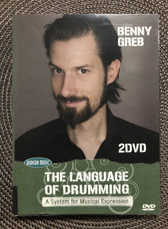"Benny Greb "" The Language Of Drumming"" 2 DVD"