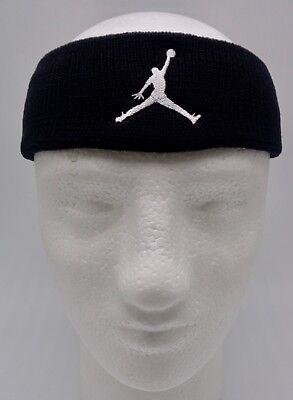 dc8bfd9b994 Nike Dri-Fit Jordan JumpMan Headband Black Mens Women s