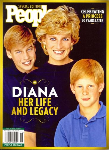 Princess Diana People Magazine Special Edition 2017 Her Life and Legacy Prince