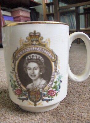Queen Elizabeth II Silver Jubilee Mug (Lord Nelson Pottery)
