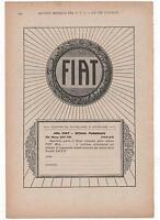 Pubblicità Epoca 1930 Fiat Auto Italian Car Old Advert Werbung Publicitè Reklame -  - ebay.it