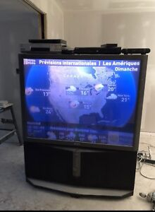 """FREE 52"""" SONY working  projection TV with attached speakers"""
