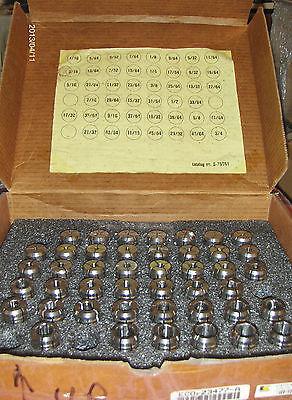Collet Tg 75 Set 43 Pc. Erickson Kennametal