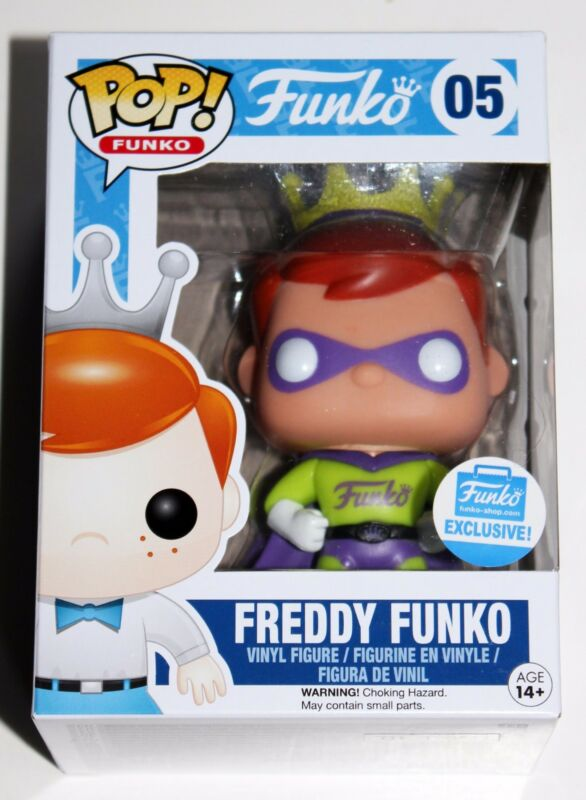 SUPERHERO FREDDY FUNKO POP VINYL SHOP EXCLUSIVE FIGURE 05 SOLD OUT SUPER HERO