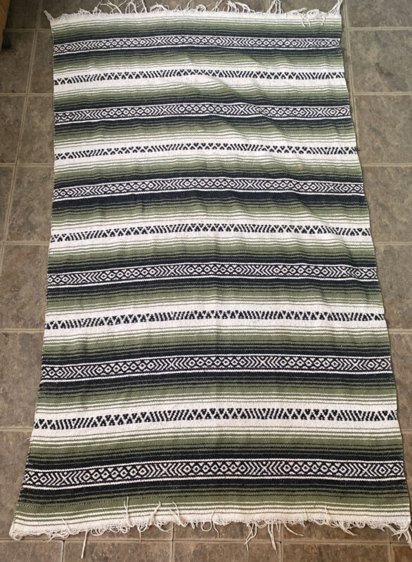antique Native American blanket/rug From Arizona Feels Cotton