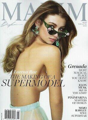 MAXIM Magazine  June 2020 Lorena Rae