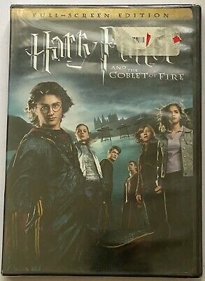Harry Potter and the Goblet of Fire (DVD, 2006, Full Frame)  Brand New Sealed!!