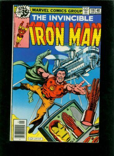 Iron Man 118 VF 8.0