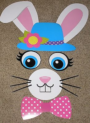 Teacher Resource: Easter Rabbit Bulletin Board Set - Easter Bulletin Board