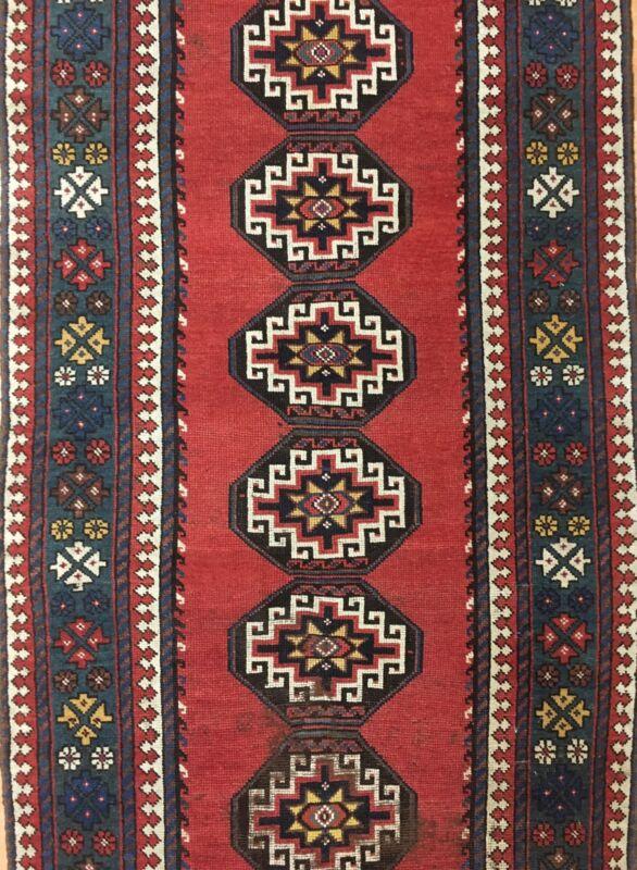 Marvelous Mazandaran - 1900s Antique Kelardasht Rug - Tribal Runner - 3.7 X 12.3