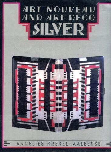 Antique Art Nouveau and Art Deco Silver - Types Origins / Scarce Book