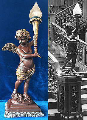 Rms Titanic Grand Staircase Cherub White Star Line