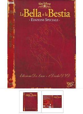 Disney Bella (DISNEY DVD La bella e la bestia De luxe (2 dvd))
