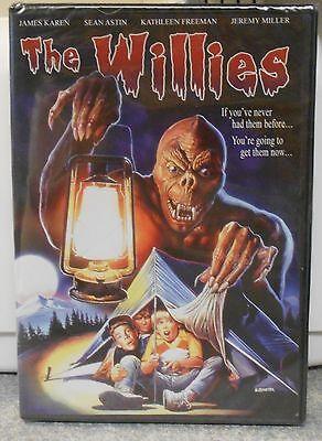 The Willies (DVD, 2005) RARE HORROR 1990 FAMILY MOVIE BRAND - 1990 Halloween Movies
