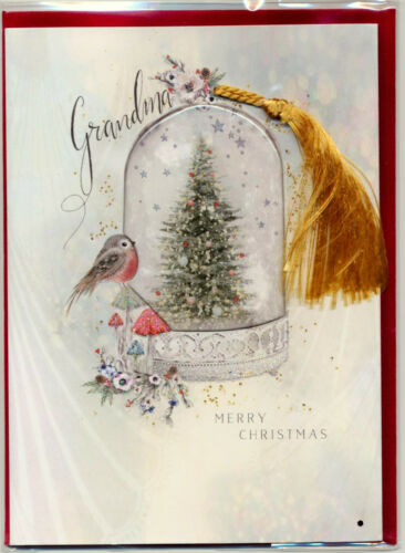 Cloche & Tassel Merry Christmas Grandma Card