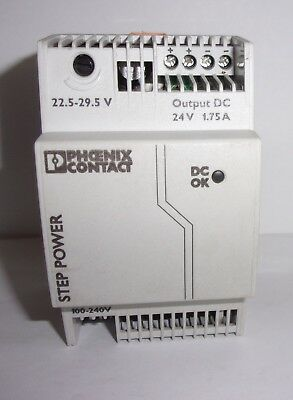 Phoenix Contact 2868648 Power Supply 100-240 Volt 24 Volts New Take Out