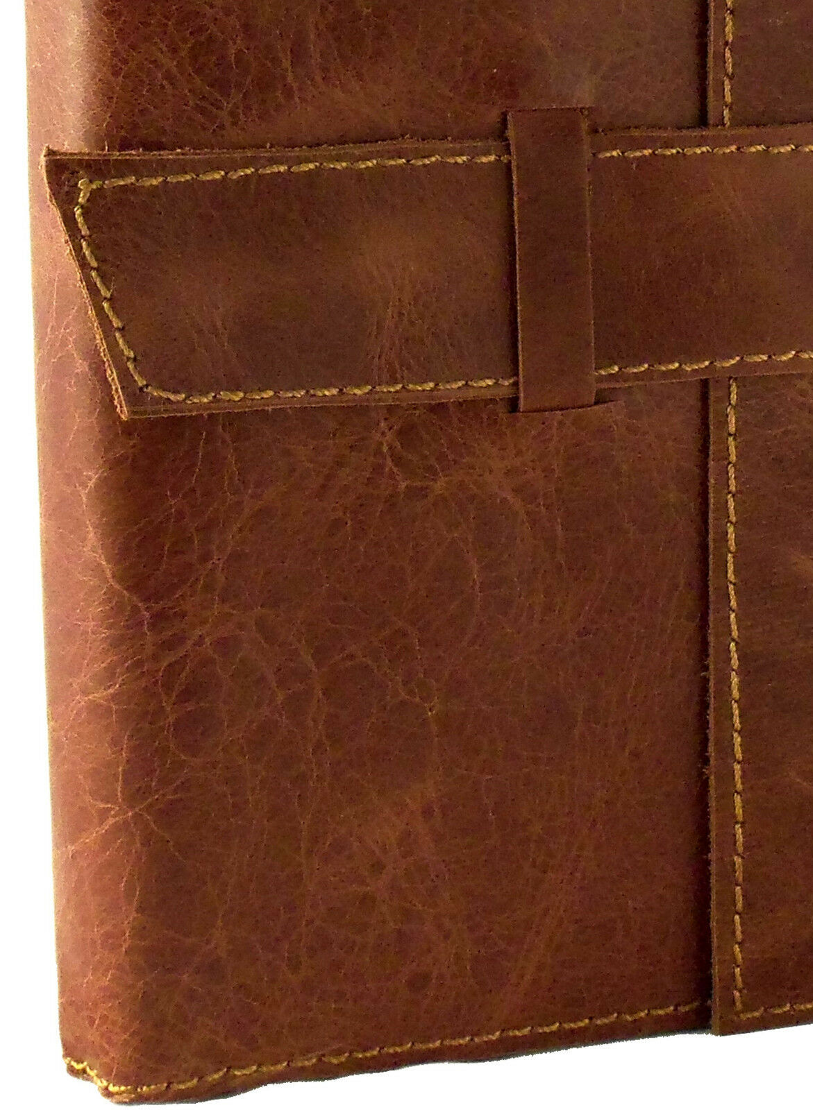 """Refillable Leather Travel Journal Diary Sketchbook Notebook Genuine RUSTIC 6x8"""""""