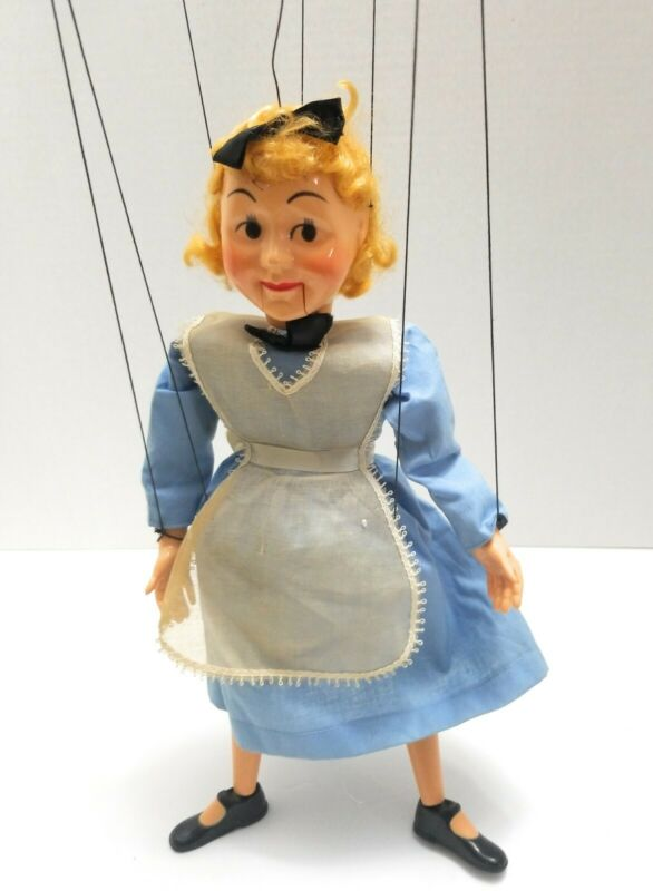 Hazelles Alice in Wonderland Marionette 1940