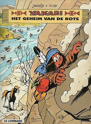 YAKARI 25 HET GEHEIM VAN DE ROTS Derib + Job - Le Lombard - 1999 - 2 scans